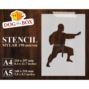 Kung Fu stencil n.1 -...