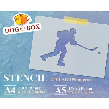 Hockey stencil n.2 -...