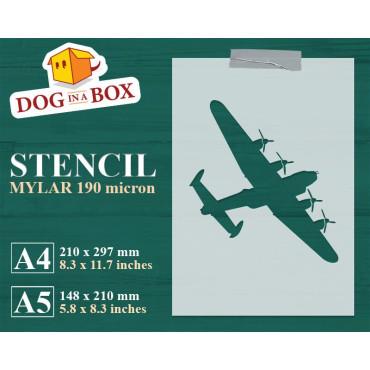 Aircraft bomber stencil n.2...