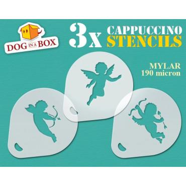 Angels stencil n.1 (set of...