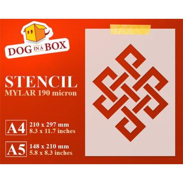 Geometric pattern stencil...