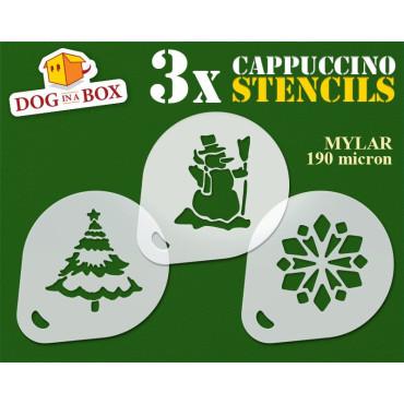 Christmas stencils n.4 (set...