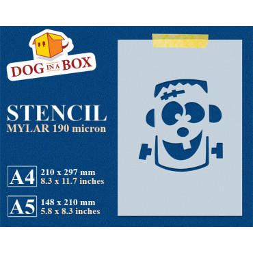 Monster stencil - Reusable...