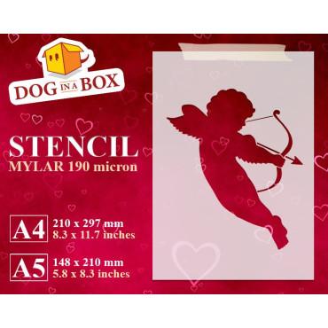 Cupid stencil n.2 -...