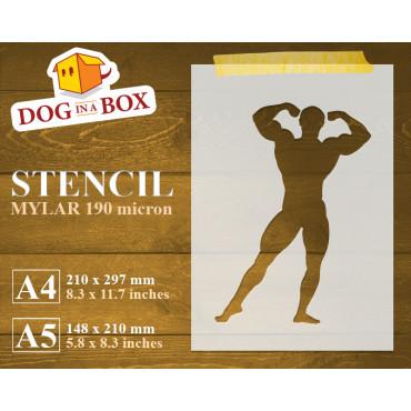 Body Builder stencil n.2 -...
