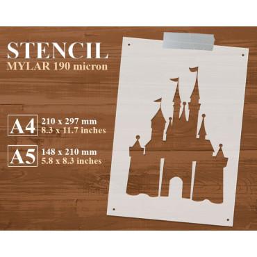 Fairy tale stencil n.3 -...