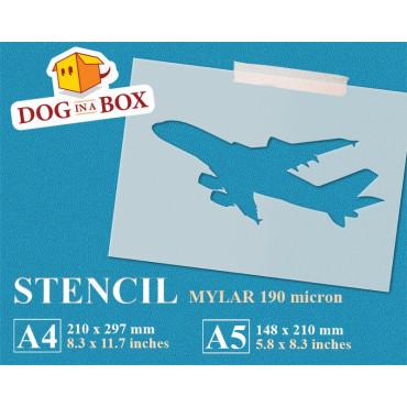 Aircraft stencil n.3 -...
