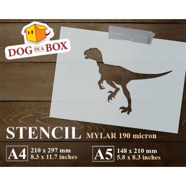 Dinosaur stencil n.3 -...