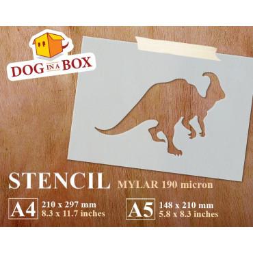 Dinosaur stencil n.5 -...