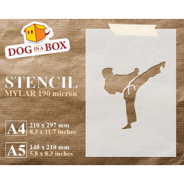 Karate stencil - Reusable...
