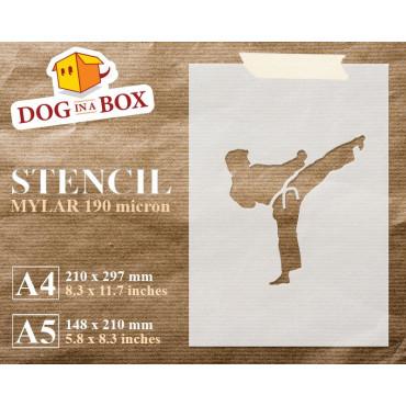 Karate stencil - Reusable...