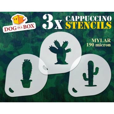 Cactus stencils (set of 3)...