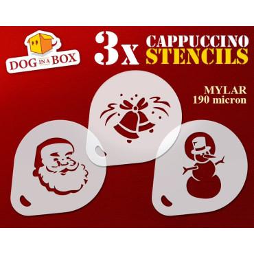 Christmas stencils n.3 (set...