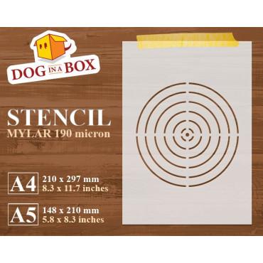 Target stencil n.2 -...