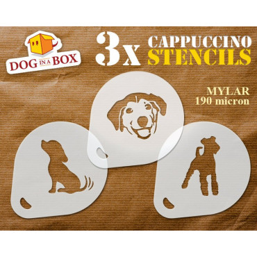 Dogs stencils n.2 (set of...