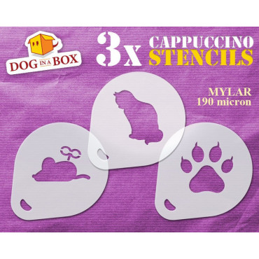 Cat and Mouse stencils (set...