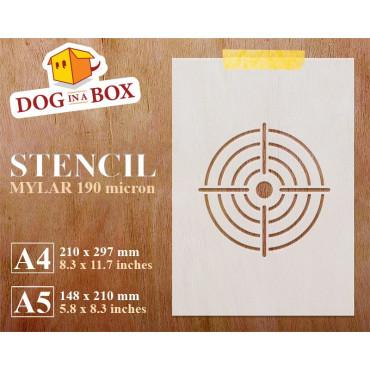 Target stencil n.1 -...