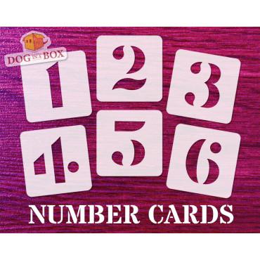 Numbers stencils n.9 -...