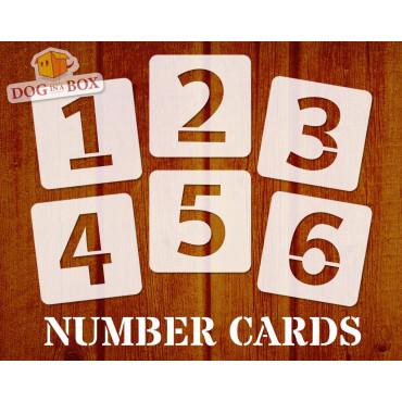 Numbers stencils n.8 -...