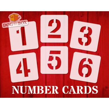 Numbers stencils n.7 -...