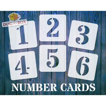 Numbers stencils n.4 -...
