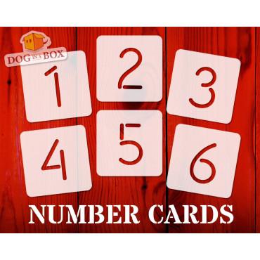 Numbers stencils n.1 -...