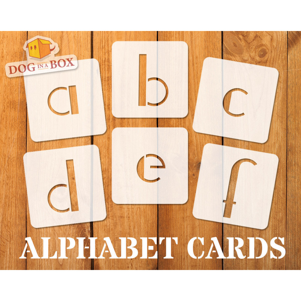 Alphabet stencils font n 6 - lowercase, individual letters A to Z, single  letter stencils, stencils for painting, stencils