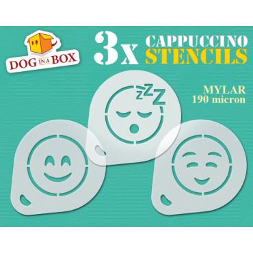 Emoticon stencil n.3 (set...