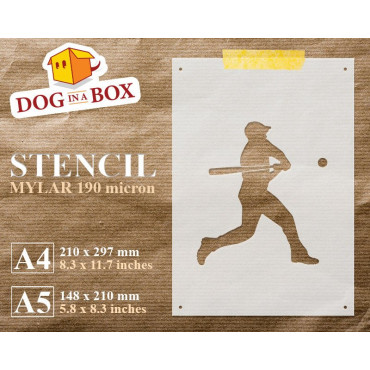 Baseball stencil - Reusable...