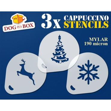 Christmas stencils n.5 (set...