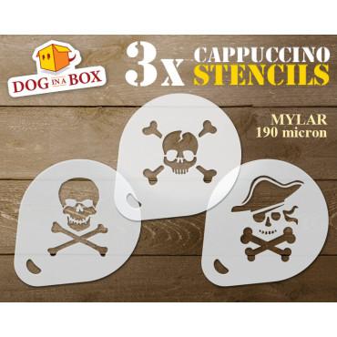 Pirate stencils n.1 (set of...
