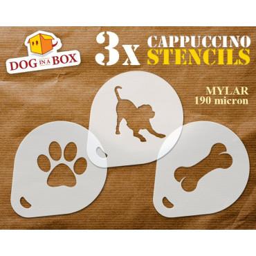 Dog stencils (set of 3)...