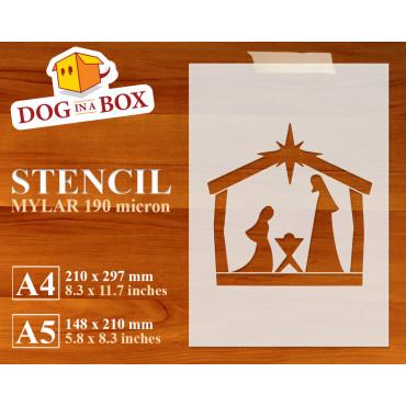 Nativity stencil n.4