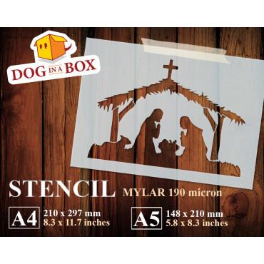 Nativity stencil n.5
