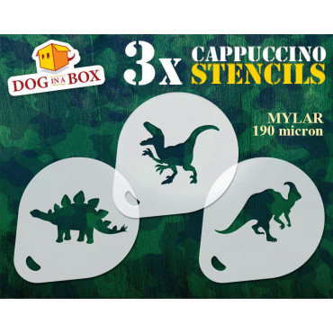 Dinosaurs stencils