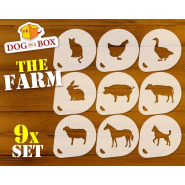 Farm Animals Stencils