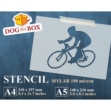 Cycling stencil - Reusable...