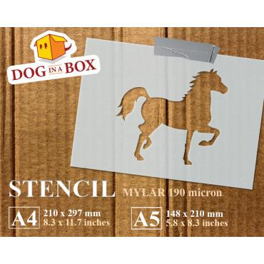 Horse stencil n.2 -...