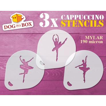 Ballerinas stencils (set of...