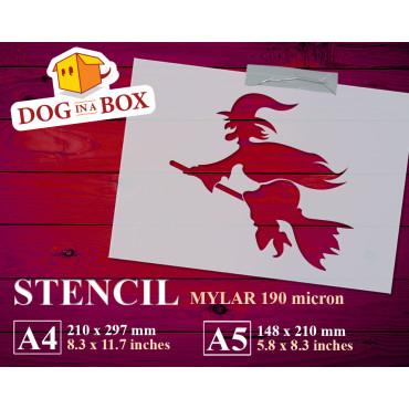 Witch stencil n.1 -...