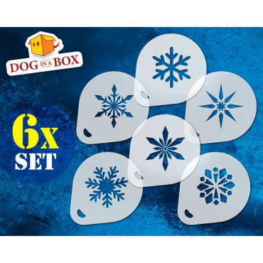 Snowflakes stencils (set of...