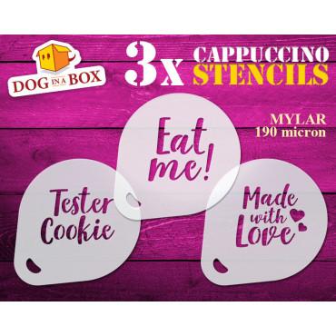 Tester Cookie stencils (set...