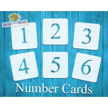 Numbers stencils n.12 -...