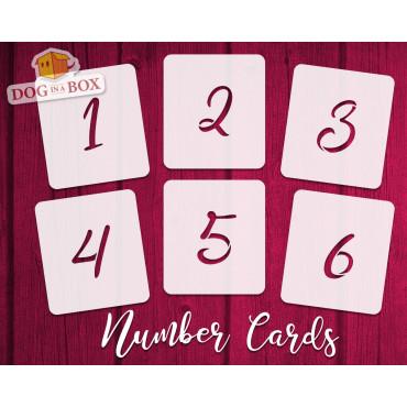 Numbers stencils n.13 -...