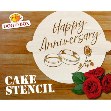 Happy Anniversary cake...