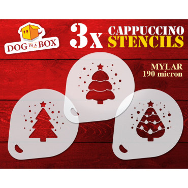Christmas Trees stencils...