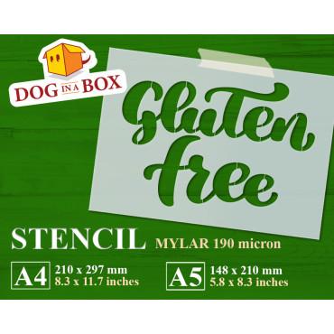 Gluten Free stencil -...