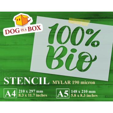 100% Bio stencil - Reusable...