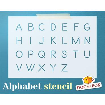 Alphabet stencil n.1 -...