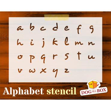 Alphabet stencil n.2 -...